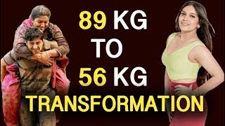 Bhumi Pednekar Weight Loss Secret | Fat to Fit Body Transformation | BMF