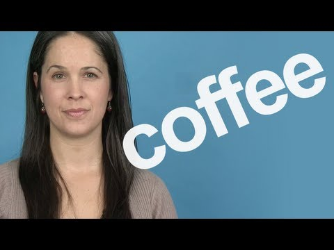 How to Pronounce COFFEE — Word of the Week — American English