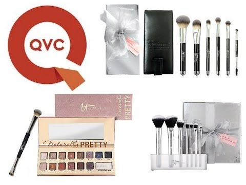 QVC It Cosmetics Haul //  Brush Sets & Matte Eyeshadow Palette