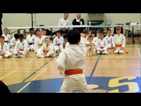 Daniel's 2nd Kata at 2012 Ontario Chito-Ryu Karate Tournament Image 1