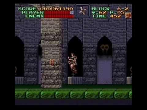 Misc Computer Games - Super Castlevania 4 - The Cave