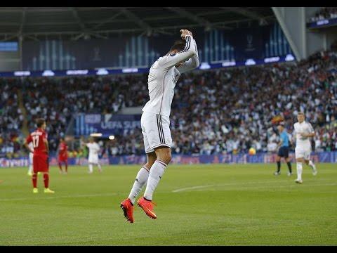 Servilla vs Real Madrid 0-2 ~ GOAL CRISTIANO RONALDO  ~  UEFA Supercopa -  12-08-2014
