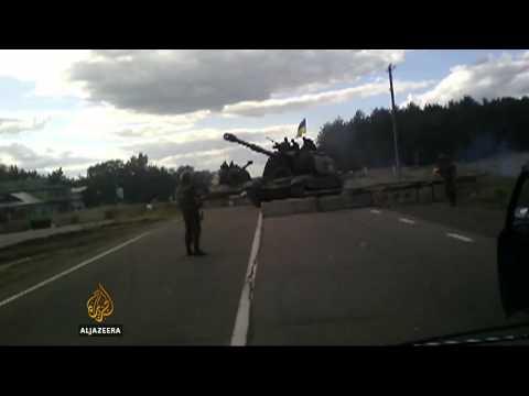 Ukraine president announces temporary truce