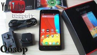 Prestigio MultiPhone Muze C3 3504 Обзор смартфона Android 5.0 Lollipop