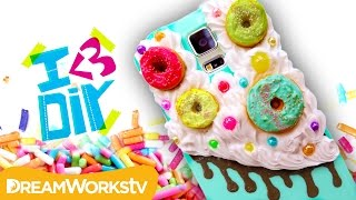 DIY Donut Phone Case with Coolricebunnies | I ♥ DIY