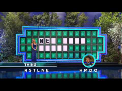 Wheel of Fortune 3/19/14: No Help, No Problem