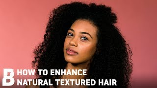 EASY HAIR TUTORIAL FOR NATURAL TEXTURED HAIR | Beauty Bay