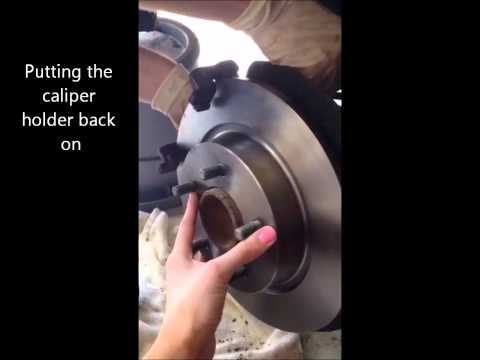 2007 Mazda 3 Rear Brake Pads and Rotors --Quick How to--