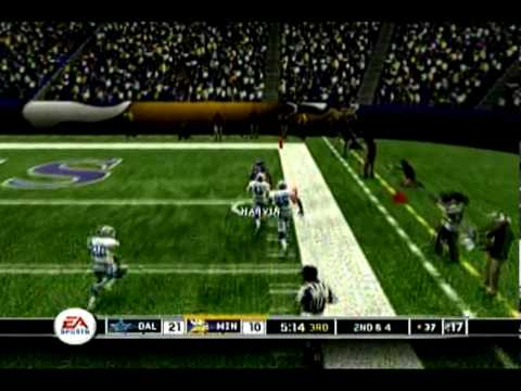 Madden 10 Predictions - NFL Playoffs - Minnesota Vikings vs Dallas Cowboys - The Viking Ship Video