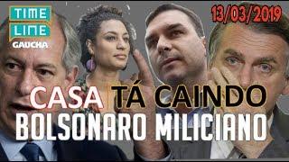 """Ciro Aponta Ligações de Bolsonaro com Milícias """"Tantas Provas Mas Tenta Enganar"""" 13/03/2019"""
