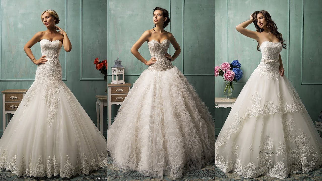 Amelia Sposa Wedding Dress 2014 Collection Youtube