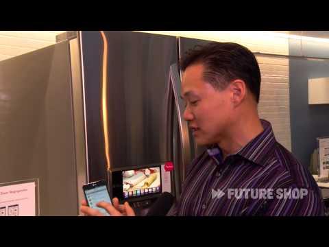 Super Capacity Smart Fridge from LG -- Future Shop @ CES 2013