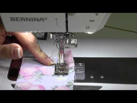 Bernina 710 45 Gathering Stitch