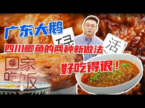 陸綜-回家吃飯-20201130  廣東大鵝四川鯽魚的兩種新做法好吃得很!