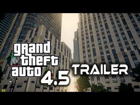 GTA 5 Graphics on GTA 4 (GTA 4.5) Mod