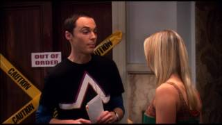 Big Bang Theory- laugh track is replaced with Matthew McConaughey saying