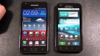 Samsung Galaxy S II vs Motorola Atrix 4G Part 2 Dual-Core Face Off