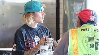 Rapping Makes Justin Bieber Hungry!