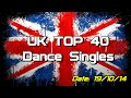 Download UK Top 40 - Dance Singles (19/10/2014) MP3 song and Music Video