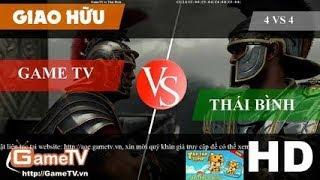 [Trực Tiếp AOE Trực Tiếp] 20/05/2019 4vs4 Chim Sẻ Đi Nắng GameTV vs Thái Bình Hồng Anh