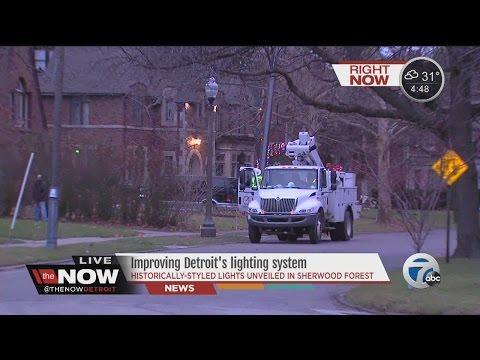 The Now Detroit: Improving Detroit's lighting system