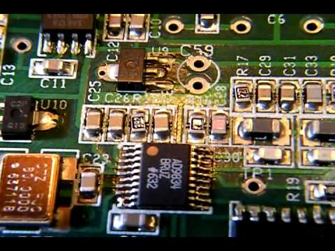 Building a ham radio transceiver:ATS3B by Steven Weber KD1JV