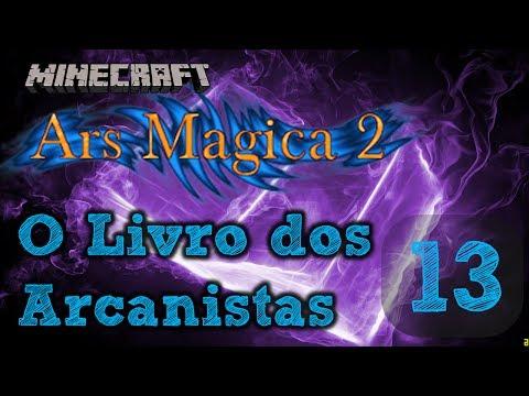 Wiki dentro do Jogo! ~ Minecraft Mod Ars Magica 2 #13 (Gameplay Pt/BR