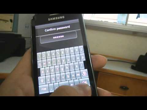 How to do factory reset password on samsung ace 2 / similar models