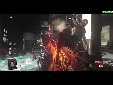 Advanced Warfare Zombies Funny Moments: EXO Undead, Lightshow Fail & Sleepy Daithi!