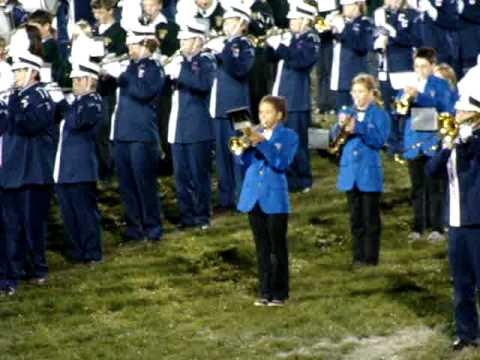 School  the high school band invited the local middle schools to