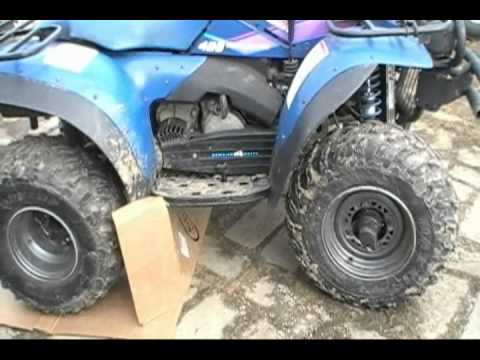 1996 Polaris 425 Magnum 4x4~4 wheeler ATV Changing the Chain