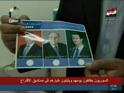 Raw: Polling Stations Open for Syrian Elections