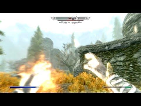 Let's Play Skyrim Falskaar Mod [Deutsch/German] #455: Staalgarde in Flammen