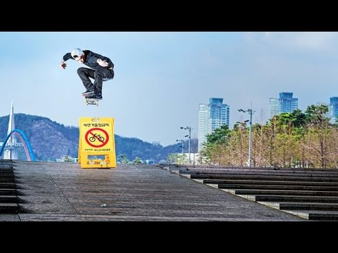 Seoul Searching for Skate Spots - Journey with Choi: Chapter 2