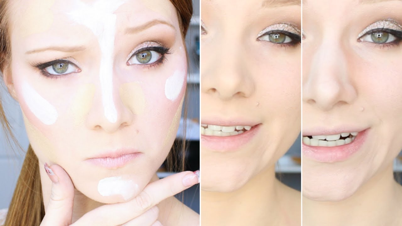 Highlighting and Contouring Makeup Tutorial - YouTube