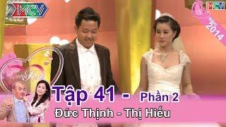 MC Quốc Thuận ngã ghế vì cô vợ cực xinh   Đức Thịnh – Phan Thị Hiếu   VCS #41 😊