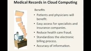 Cloud Computing in the Medical Field