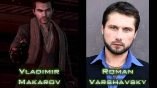 Call of Duty: Modern Warfare 3 - Characters and Voice Actors