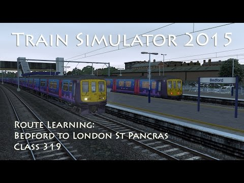 In this next route learning video we take a journey down the brand new MML London to Bedford route from Bedford to London St Pancras Thameslink in a Class 319. We will be calling at Flitwick,...