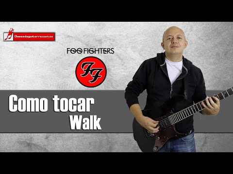 Como Tocar Walk De Foo Fighters Tutorial Para Guitarra