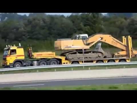 convoi exceptionnel 944 liebherr entreprise lorban tp