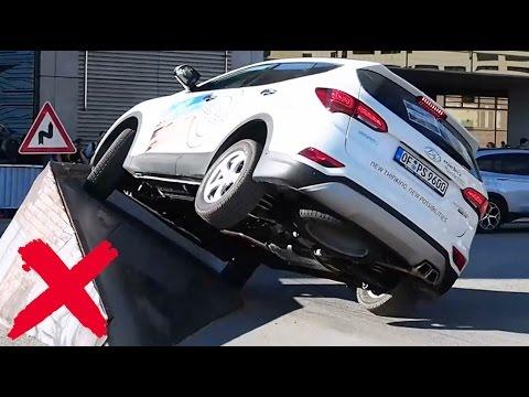 2016 Hyundai Santa Fe 4x4 - Offroad Demo Run