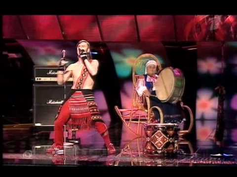 Eurovision Ukraine 2005 - Moldova (Zdob È™i Zdub - Bunica bate toba)