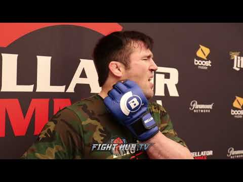 "CHAEL SONNEN DETAILS AWKWARD SCUFFLE W/CHUCK LIDDELL ""IM UP FOR THE FIGHT RIGHT NOW!"""