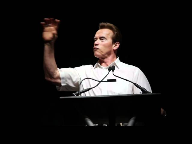 2011 Ask Arnold Training Seminar- Arnold Schwarzenegger Talks Bodybuilding Advice - Part 1