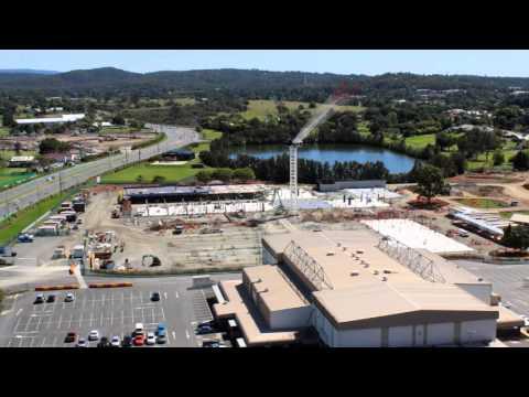 Carrara Sports and Leisure Centre construction time-lapse