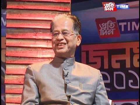 Pratidin Time 'Janamat' with CM Tarun Gogoi