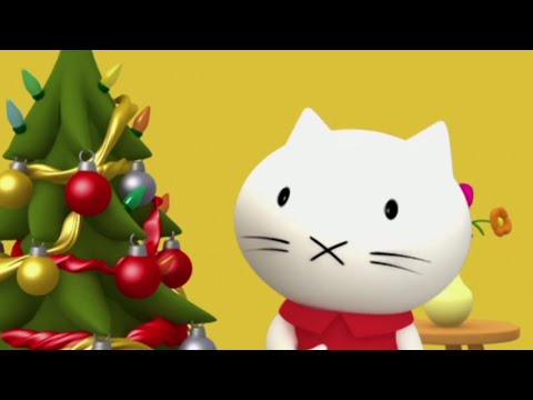Мультики малышам - Котёнок Мусти - Зимний сборник - сборник 5