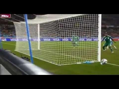 World Cup 2010 Most Shocking Moments 6 - Yakubu's Crazy Miss