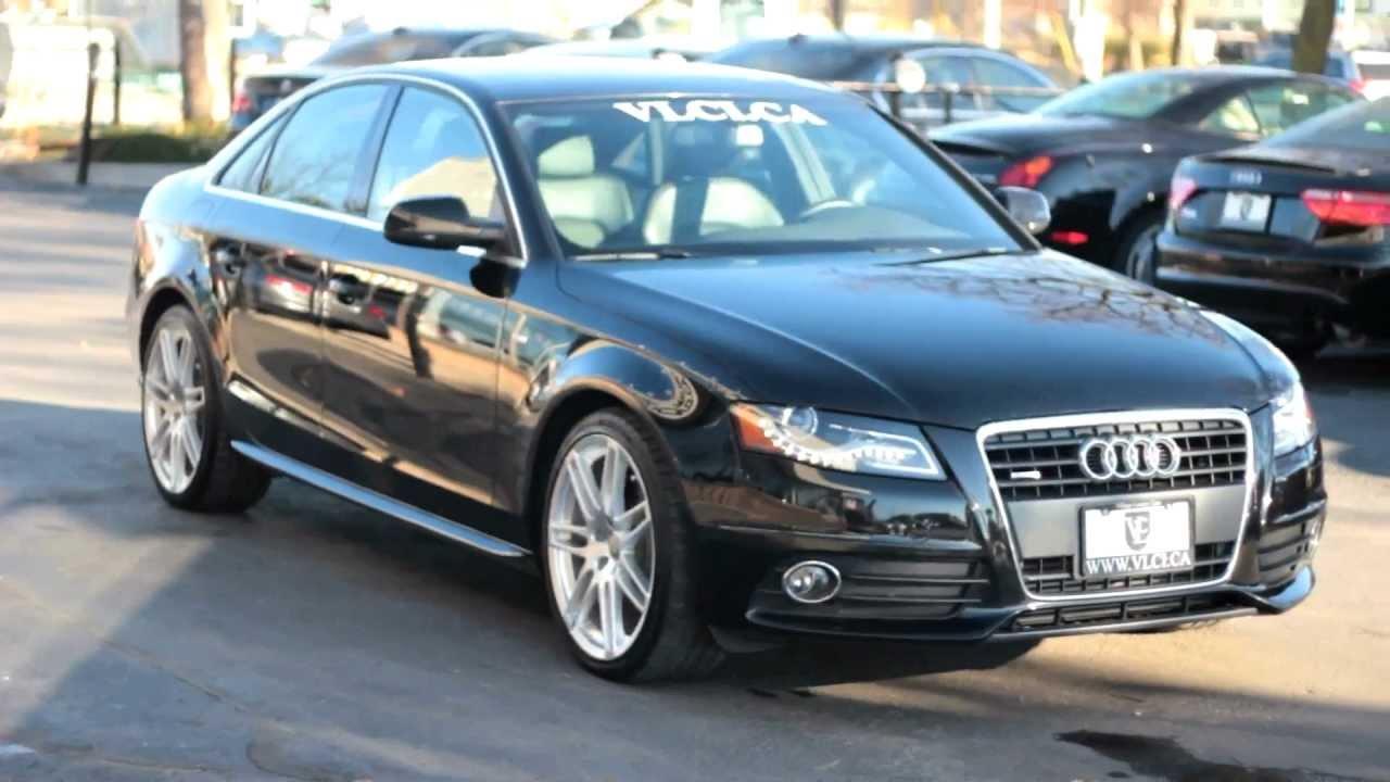 2012 Audi A4 S Line Village Luxury Cars Toronto Youtube